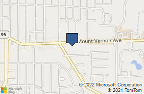 Bing Map of 1105 Mount Vernon Ave Marion, OH 43302