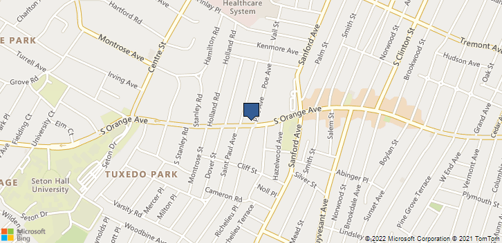 1109 S Orange Ave Newark, NJ, 07106 Map