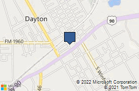 Bing Map of 111 N Main St Dayton, TX 77535