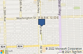 Bing Map of 1117 S 21st Ave # A Hollywood, FL 33020