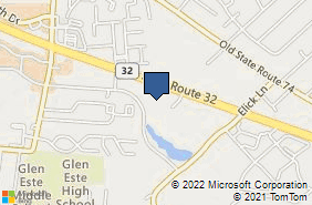 Bing Map of 1117 State Route 32 Ste B Batavia, OH 45103