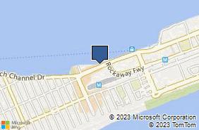 Bing Map of 11230 Beach Channel Dr Rockaway Park, NY 11694