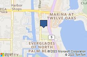 Bing Map of 11235 Us Highway 1 North Palm Beach, FL 33408