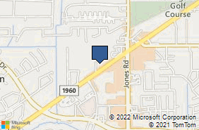Bing Map of 11240 Fm 1960 Rd W Ste 201 Houston, TX 77065