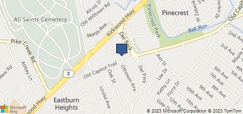 Bing Map of 113 Kirkwood Sq Wilmington, DE 19808