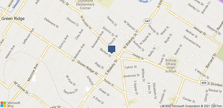 113 W Drinker St Dunmore, PA, 18512 Map