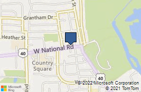 Bing Map of 113 W National Rd Englewood, OH 45322