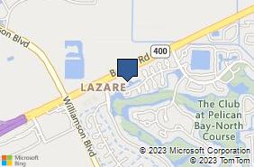 Bing Map of 1134 Pelican Bay Dr Daytona Beach, FL 32119