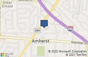 Bing Map of 1135 Millersport Hwy Buffalo, NY 14226