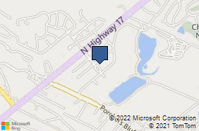Bing Map of 1136 Oakland Market Rd Mount Pleasant, SC 29466