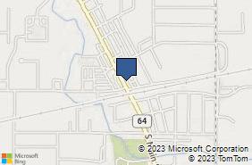 Bing Map of 114 N Main St Swanton, OH 43558