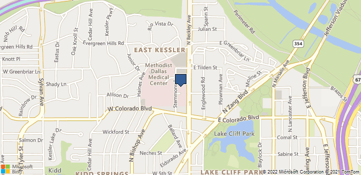 1141 N Beckley Ave Dallas, TX, 75203 Map