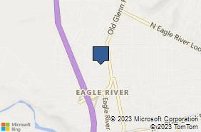 Bing Map of 11432 Business Blvd Eagle River, AK 99577