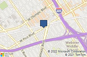 Bing Map of 11544 W Pico Blvd Los Angeles, CA 90064