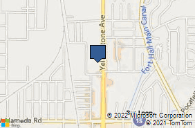Bing Map of 1155 Yellowstone Ave Ste A Pocatello, ID 83201