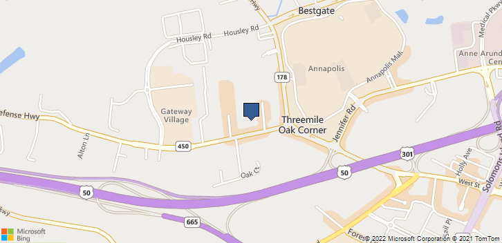 116 Defense Hwy 500 Annapolis, MD, 21401 Map