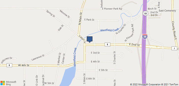 116 East 2nd Street Westfield, WI, 53964 Map