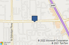 Bing Map of 11623 Spring Cypress Rd Ste A Tomball, TX 77377