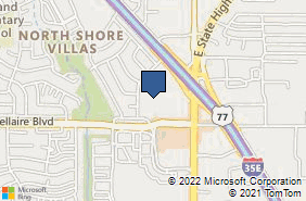Bing Map of 1165 S Stemmons Fwy Ste 108 Lewisville, TX 75067