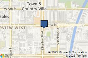 Bing Map of 117 S Harbor Blvd Santa Ana, CA 92704