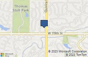 Bing Map of 11808 Quivira Rd Overland Park, KS 66210