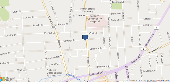 119 North St Auburn, NY, 13021 Map