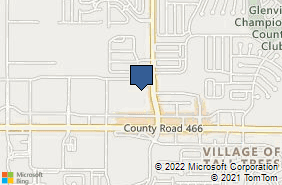 Bing Map of 11962 County Road 101 Ste 305 The Villages, FL 32162