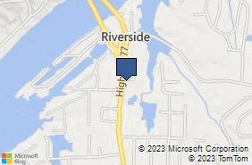 Bing Map of 1197 Highway 77 Southside, AL 35907