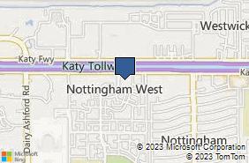 Bing Map of 11999 Katy Fwy Ste 260 Houston, TX 77079
