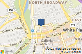 Bing Map of 12 Water St Ste 401 White Plains, NY 10601