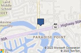 Bing Map of 120 Eldridge Rd Ste A Sugar Land, TX 77478