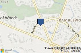 Bing Map of 1200 S Church St Ste 105 Mount Laurel, NJ 08054