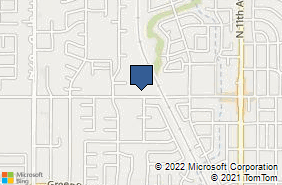 Bing Map of 1200 W Grangeville Blvd Ste 1 Hanford, CA 93230