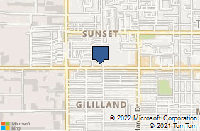 Bing Map of 1200 W University Dr Ste 105 Tempe, AZ 85281