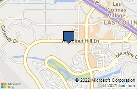 Bing Map of 1200 W Walnut Hill Ln Ste 1050 Irving, TX 75038