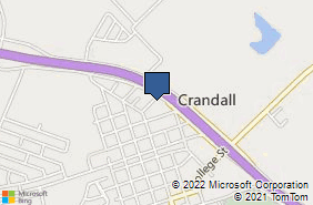 Bing Map of 1202 E Us Highway 175 Crandall, TX 75114