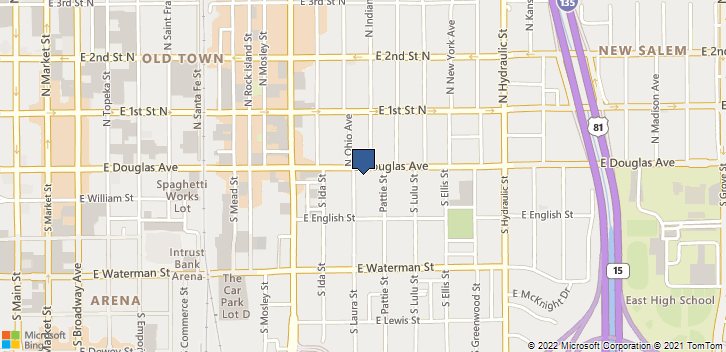 1207 E Douglas Ave Wichita, KS, 67211 Map