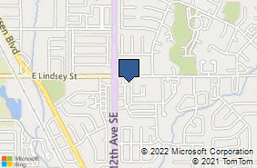 Bing Map of 1208 Lindsey Plaza Dr Norman, OK 73071