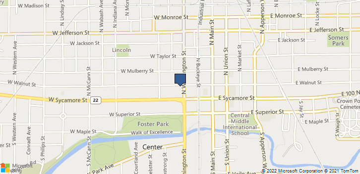 121 N Washington St. Kokomo, IN, 46901 Map