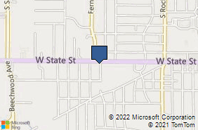 Bing Map of 1210 W State St Alliance, OH 44601