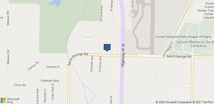 1212 St. George Road Evansville, IN, 47711 Map