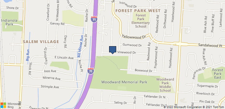 1213 Vinewood Dr Columbus, OH, 43229 Map