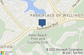 Bing Map of 12180 South Shore Blvd Ste 103 Wellington, FL 33414