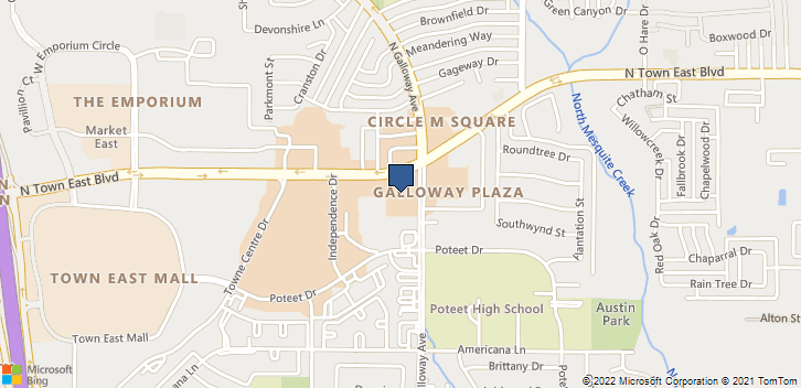 1220 North Town East Blvd., Suite 246 Mesquite, TX, 75150 Map