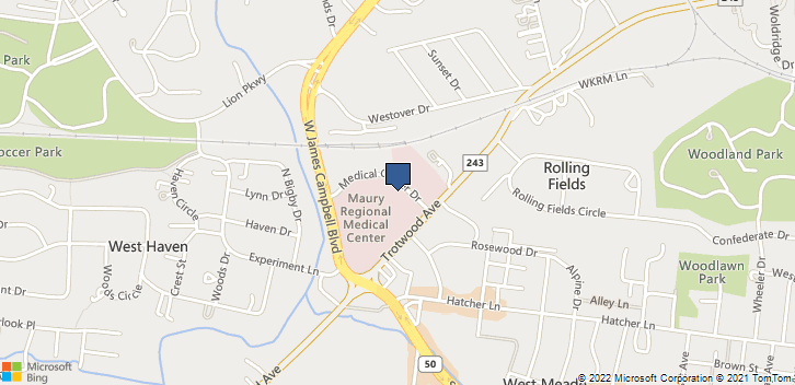 1222 Trotwood Ave Ste 605 Columbia, TN, 38401 Map