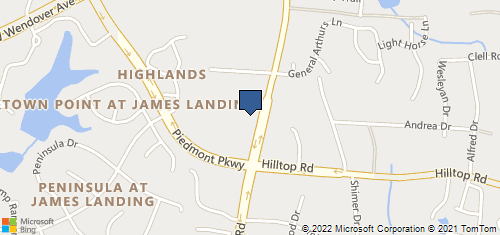 Bing Map of 1228 Guilford College Rd Ste 106 Jamestown, NC 27282