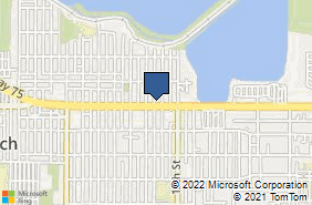 Bing Map of 1228 Palm Ave Imperial Beach, CA 91932