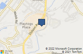 Bing Map of 125 Dolson Ave Middletown, NY 10940