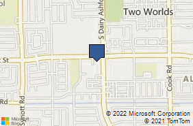 Bing Map of 12709 Beechnut St Ste 130 Houston, TX 77072