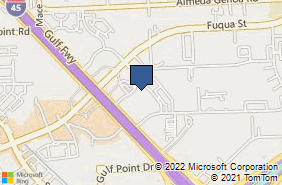 Bing Map of 12727 Featherwood Dr Ste 280 Houston, TX 77034